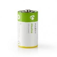 Alkalická Baterie D   1.50 V   AlkalickÉ   D / MN1300 / MX1300 / 13A / 12000   Počet baterií: 2 ks   Blistr   LR20   Zelená / Žl