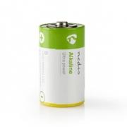 Alkalická Baterie D | 1.5 V | 2 kusů | Blistr