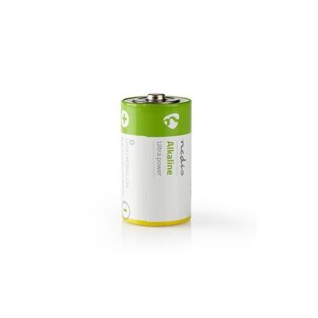 Alkalická Baterie D   1.5 V   2 kusů   Blistr