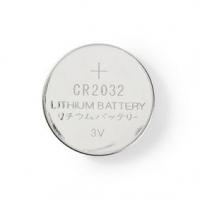 Lithiová Knoflíková Baterie CR2032 | 3.00 V | Lithiové Baterie | CR2032 / 5004LC | Počet baterií: 5 ks | Blistr | CR2032 | Stříb