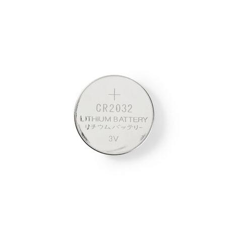 Lithiová Knoflíková Baterie CR2032 | 3 V | 5 kusů | Blistr