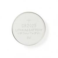 Lithium Button Cell CR2025 baterie | 3.00 V | Lithiové Baterie | CR2025 / 5003LC | Počet baterií: 5 ks | Blistr | CR2025 | Různé