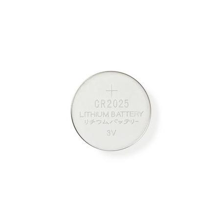 Lithiová Knoflíková Baterie CR2025 | 3 V | 5 kusů | Blistr
