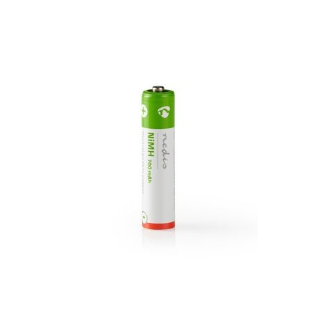 Dobíjecí Ni-MH Baterie AAA | 1.2 V | 700 mAh | 2 kusů | Blistr