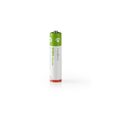 Dobíjecí Ni-MH Baterie AAA   1.2 V   700 mAh   4 kusy   Blistr