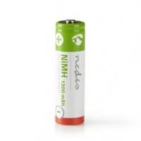 Dobíjecí Ni-MH baterie AA | 1.20 V | NiMH | AA | Dobíjecí | 1300 mAh | Přednabité | Počet baterií: 4 ks | Blistr | HR6 | Bezdrát