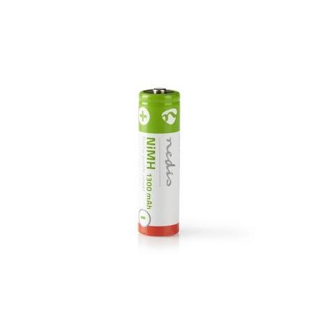 Dobíjecí Ni-MH Baterie AA | 1.2 V | 1 300 mAh | 4 kusy | Blistr