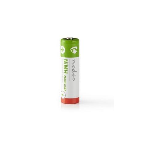 Dobíjecí Ni-MH Baterie AA   1.2 V   2 600 mAh   4 kusy   Blistr
