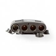 Univerzální napájecí adaptér DC | 5/12 V DC | Nabíječka/USB do auta | 4cestný