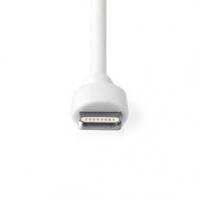 Nabíječka do auta | 1x 2,4 A | Počet výstupů: 1 | Lightning 8-Pin (Pevný) kabel | 1.00 m | 12 W | Jediné Výstupní Napětí