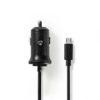 Nabíječka do auta | 1x 2,4 A | Počet výstupů: 1 | Micro USB (Pevný) kabel | 1.00 m | 12 W | Jediné Výstupní Napětí