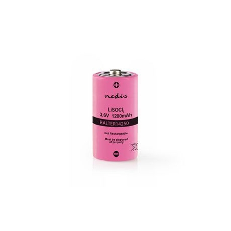 Lithium-Thionyl Chloridová Baterie ER14250   3,6 V   1 200 mAh