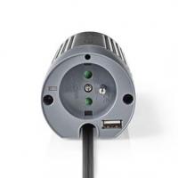 Měnič Modifikovaná sinusoida | Vstupní napětí: 12 VDC | Výstupní napájecí konektor(y): 1 | 230 V ~ 50 Hz | 100 W | Špičkový výst