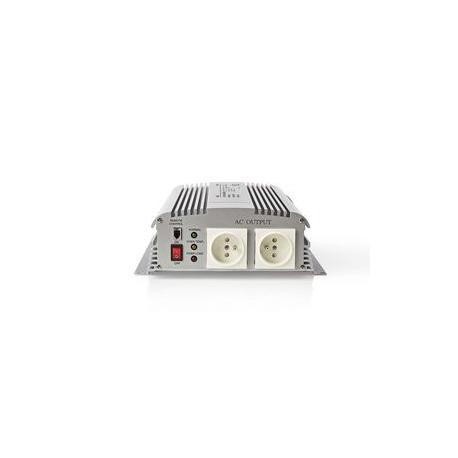 Měnič, Modifikovaná Sinusová Vlna | 12 V DC – 230 V AC | 1 700 W | 2x Zemnicí Kolík