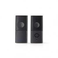 Herní Reproduktory | 2.0 | Napájení USB | Jack 3,5 mm | RMS 6 W
