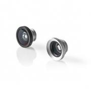Sada Objektivů Pro Kameru Mobilního Telefonu | 3 v 1 | Makro / Širokoúhlý / Rybí Oko | Připínací