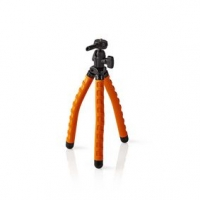 Mini stativ | Max. 1 kg | 27,5 cm | Ohebná | Černá/Oranžová