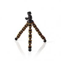 Mini stativ | Max. 2,5 kg | 30,0 cm | Ohebná | Černá/Oranžová