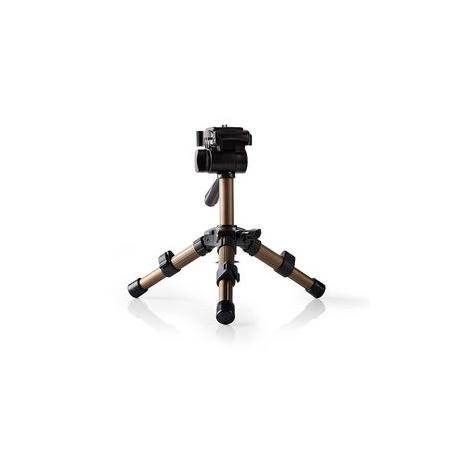 Mini stativ | Otáčení a náklon | Max. 1 kg | 161 cm | Černá / Stříbrná