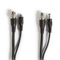 CCTV bezpečnostní kabel | BNC / DC | 10.0 m | Kulatý | PVC | Černá | Dárkový Box