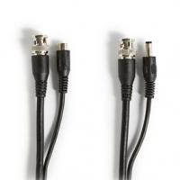 CCTV bezpečnostní kabel | BNC / DC | 20.0 m | Kulatý | PVC | Černá | Dárkový Box