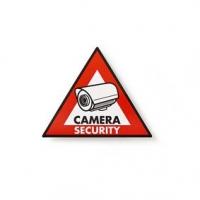 Výstražná Samolepka | Symbol Bezpečnostní Kamery | Sada 5 kusů