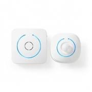 Vyzvánění Detektoru Pohybu pro Zabezpečení Domácnosti | 8 Vyzváněcích Tónů | Signály s osvětlením a zvukem