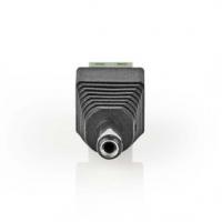 CCTV Security Connector | 2cestná svorkovnice | 5,5 x 2,1 mm Zástrčka | Zástrčka | Černá / Zelená