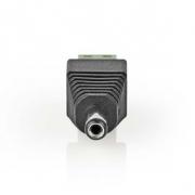 Nedis CCTV Bezpečnostní Konektor | 5x | 2vodičový na DC Zásuvku | 5,5 x 2,1 mm
