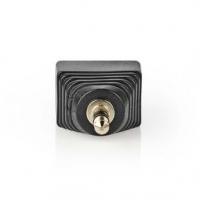 CCTV Security Connector | 3cestná svorkovnice | 3,5 mm Jack Zástrčka | Zástrčka | Černá / Zelená