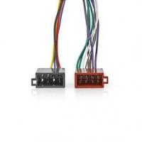 Kenwood 16pinový Kabel ISO | Rádiový konektor - 2x Auto konektor | 0,15 m | Více barev