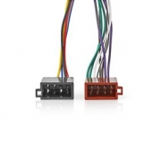 Kenwood 16pinový Kabel ISO | Rádiový konektor – 2x Auto konektor | 0,15 m | Více barev