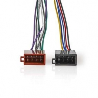 Sony 16pinový Kabel ISO | Rádiový konektor - 2x Auto konektor | 0,15 m | Více barev