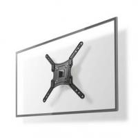 """Nástěnný TV Držák Full Motion   23-55 """"   Maximální podporovaná hmotnost obrazovky: 30 kg   Naklápěcí   Otočné   Minimální vzdál"""