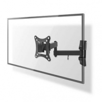 """Nástěnný TV Držák Full Motion   13-27 """"   Maximální podporovaná hmotnost obrazovky: 15 kg   Naklápěcí   Otočné   Minimální vzdál"""