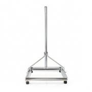 Balkonový Stojan Pro Satelit | Max. Průměr Parabolické Antény: 90 cm | 1 × 50 × 50 cm | Ocel