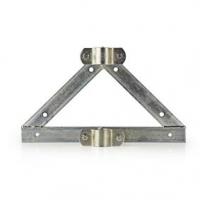 Nástěnný Držák Satelitu | Průměr stožáru: 32-42 mm | Vzdálenost od Stěny 90 mm | Ocel