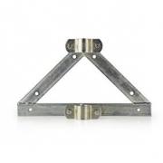 Nástěnný Držák Satelitu | Průměr stožáru: 32–42 mm | Vzdálenost od Stěny 90 mm | Ocel