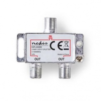 CATV Splitter | 5 - 1000 MHz | Útlum: 4.2 dB | Počet výstupů: 2 | 75 Ohm | Zinc