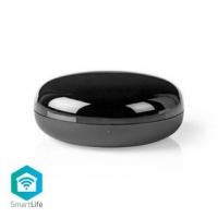 SmartLife IR Dálkové Ovládání | Wi-Fi | Univerzální | Dosah signálu: 5 m | 38 KHz | Napájení z USB | Android™ & iOS | Černá