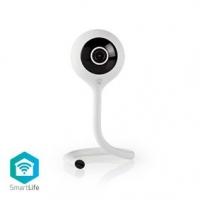 SmartLife Vnitřní Kamera | Wi-Fi | Full HD 1080p | Cloud / Micro SD | Noční vidění | Android™ & iOS | Bílá