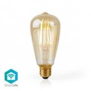 WiFi Chytrá LED Žárovka s Vláknem | E27 | ST64 | 5 W | 500 lm