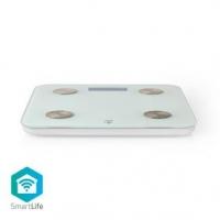 SmartLife Osobní Váha | Wi-Fi | BMR / Hmotnost / Kosti / Svaly / Tuk / Voda | 8 Paměťových Slotů | Špičkové zatížení: 180 kg | A