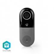 Wi-Fi Smart Domovní Zvonek s Kamerou | Ovládání Pomocí Aplikace | microSD Slot | HD 720p