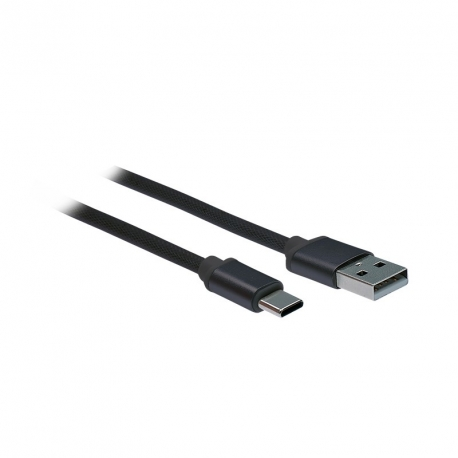 Solight USB-C kabel, USB 2.0 A konektor - USB-C 3.1 konektor, blistr, 2m