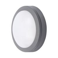 Solight LED venkovní osvětlení Siena, šedé, 13W, 910lm, 4000K, IP54, 17cm