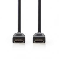 HDMI™ Kabel | Konektor HDMI ™ | Konektor HDMI ™ | 8K@60Hz | Pozlacené | 2.00 m | PVC | Černá | Plastový Sáček