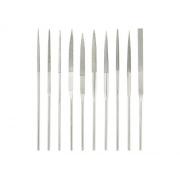 Sada diamantových pilníků 10 ks TOOLCRAFT 1553623 Délka rukojeti 30 mm