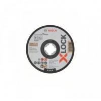 Plochý řezný kotouč Bosch Standard for Inox systému X-LOCK, 125×1×22,23 mm - 2608619262