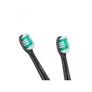 Hlavice pro zubní kartáčky TEESA SONIC BLACK 2 ks v blistru, střední